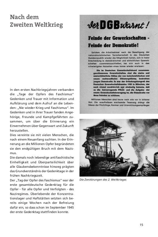 16UnterschiedlicheGedenkkulturin BRD und DDRGemeinschaftlichesGedächtnisder DeutschenMit Beginn des Kalten Krieges - und e...
