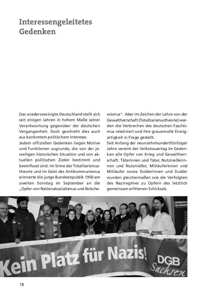 19In der DDR diente der Partei- und Staats-führung das Gedenken an die Opfer desFaschismus auch ihrer eigenen Legitimation...