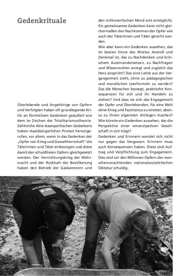 """21Lange Zeit blieb der Widerstand gewerk-schaftlich organisierter Menschen weitge-hend verschwiegen und in der """"Aufarbei-t..."""