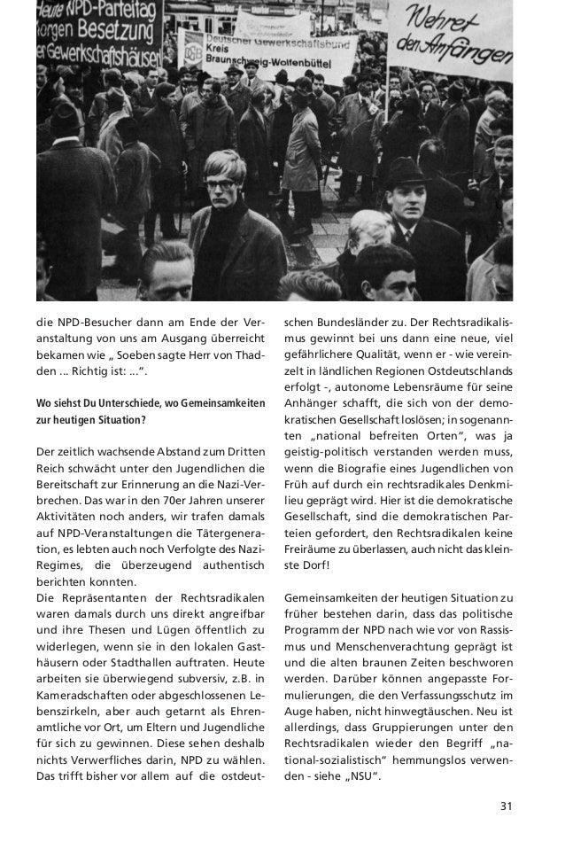 """32Jugendliche von heute lassen sich nicht in die""""Erinnerungs-Verantwortung"""" für die jüngstedeutsche Geschichte nehmen. Vie..."""