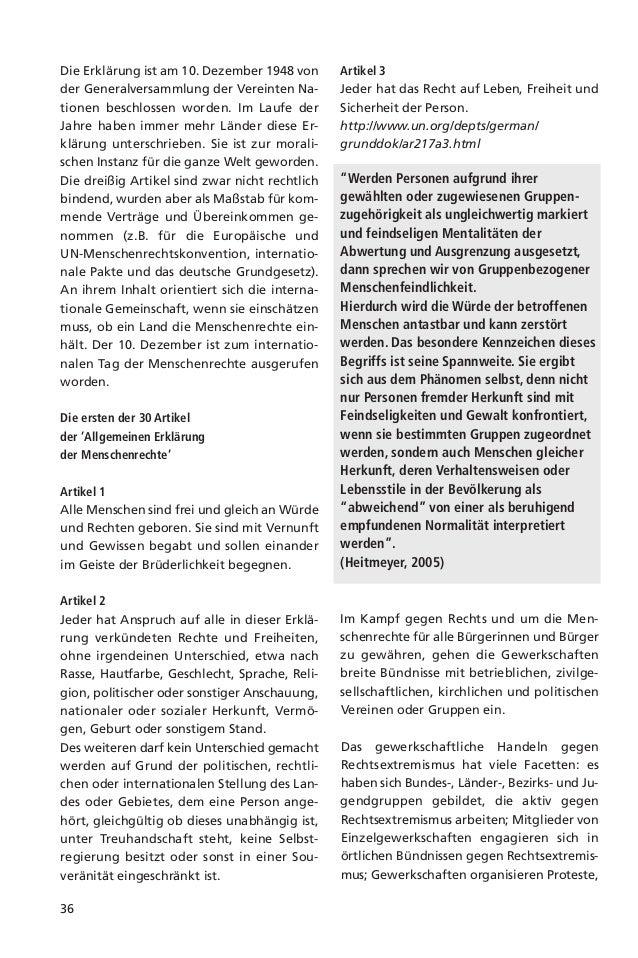 37(Stöss / Fichter / Zeuner 2005). Hier haben dieGewerkschaften ihren dringenden Hand-lungsbedarf erkannt und wurden und w...