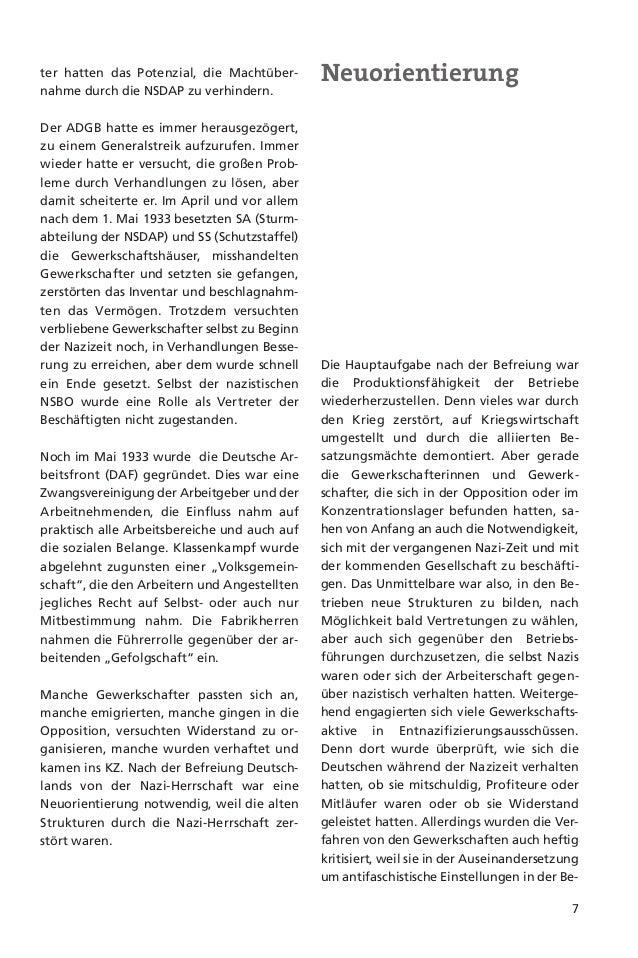 8Pflege und Heranbildung des Geistesfriedlicher Völkerverständigung durchZusammenarbeit mit der internationalenGewerkschaf...