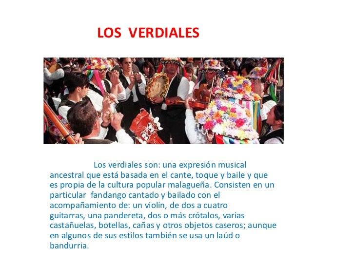 LOS  VERDIALES<br />                     Los verdiales son: una expresión musical ancestral que está basada ...