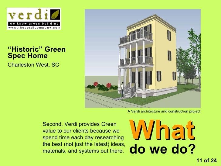 Verdi green design build company overview for Design build companies