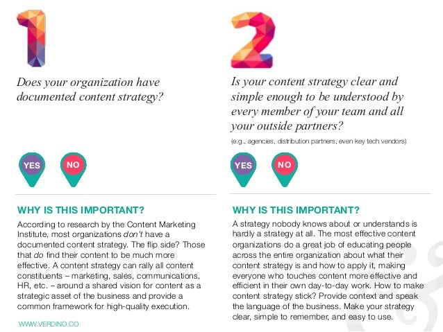 According to research by the Content Marketing Institute, most organizations don't have a documented content strategy. The...