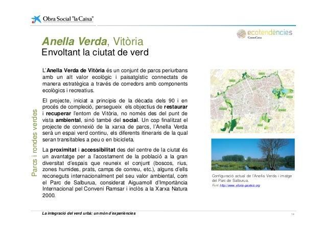 Anella Verda, Vitòria Envoltant la ciutat de verd L'Anella Verda de Vitòria és un conjunt de parcs periurbans amb un alt v...
