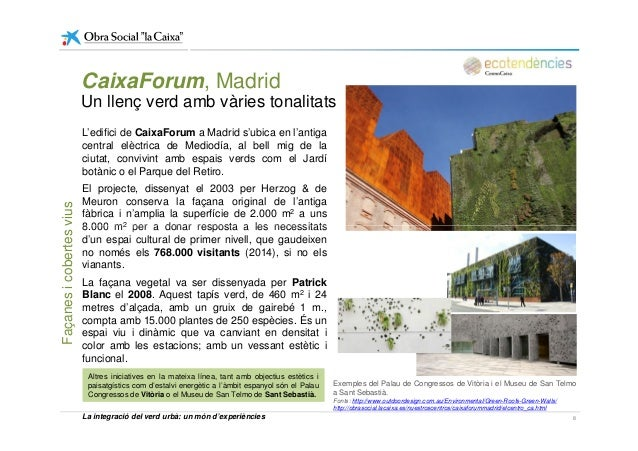 L'edifici de CaixaForum a Madrid s'ubica en l'antiga central elèctrica de Mediodía, al bell mig de la ciutat, convivint am...