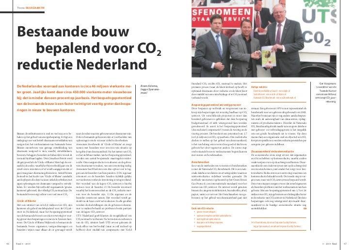 Thema Duurzaam Fm     Bestaande bouw        bepalend voor CO2     reductie Nederland                                      ...