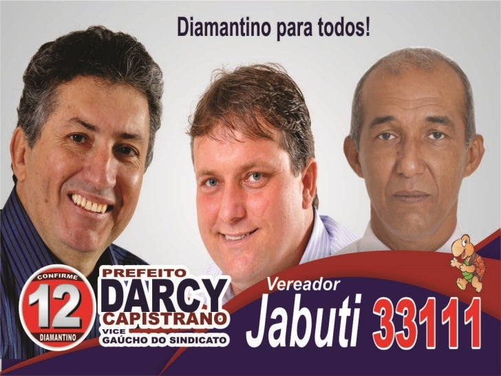 Vereadores da coligação Diamantino para Todos.