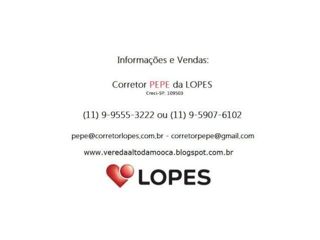 Vereda Alto da Mooca - 03 Suítes - 118m² - Fale com o PEPE (11) 9-9555-3222
