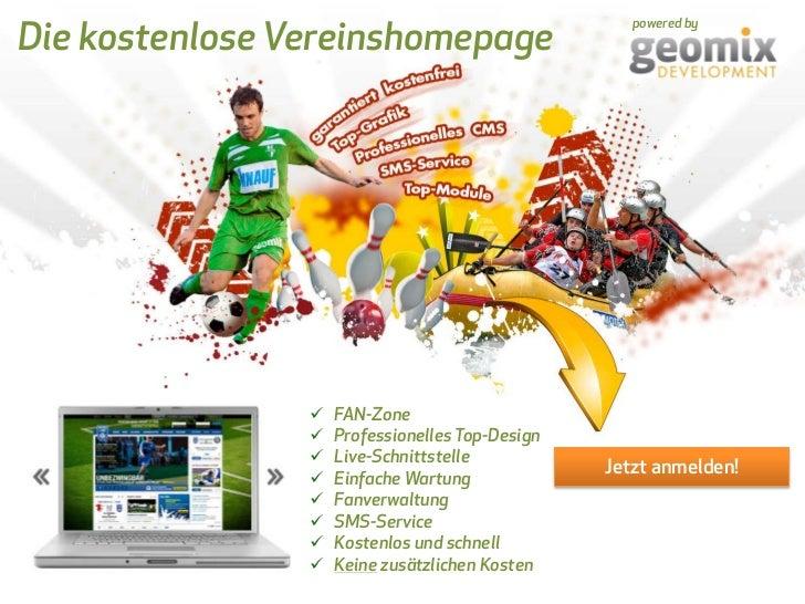 Vereinswebsite von <br /><ul><li>SMS-Service