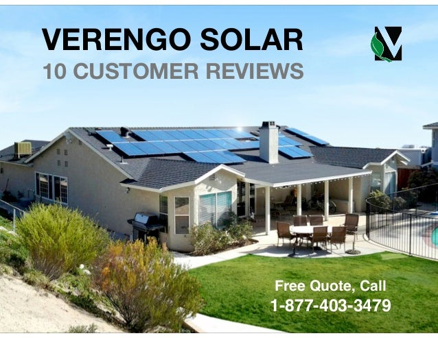 B T C P O S VERENGO SOLAR 10 CUSTOMER REVIEWS ! ! ! ! ! ! ! ! Free Quote, Call ! 1-877-403-3479