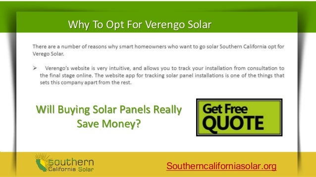 Verengo Solar Panels Reviews Save Money With Solar Power