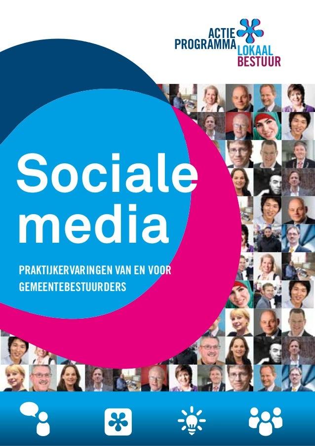 Sociale media praktijkervaringen van en voor gemeentebestuurders
