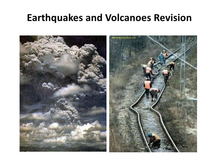 Earthquakes and Volcanoes Revision<br />