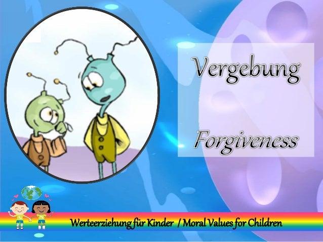 Werteerziehungfür Kinder / Moral Valuesfor Children