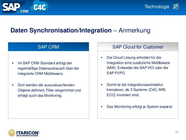 Vergleich sap crm vs cloud for customer c4c sap pipo technologie 9 malvernweather Images