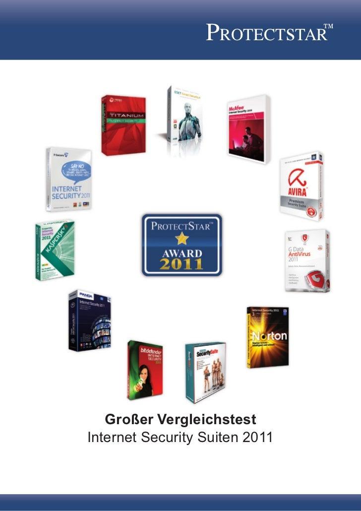 PROTECTsTAR™   Großer VergleichstestInternet Security Suiten 2011