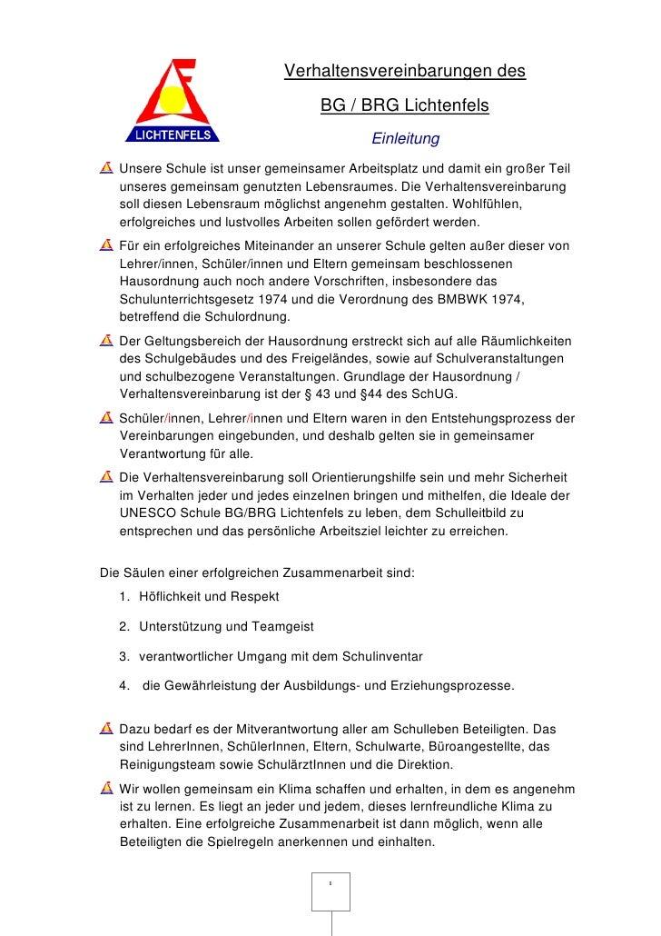 Verhaltensvereinbarungen letztfassung für homepage