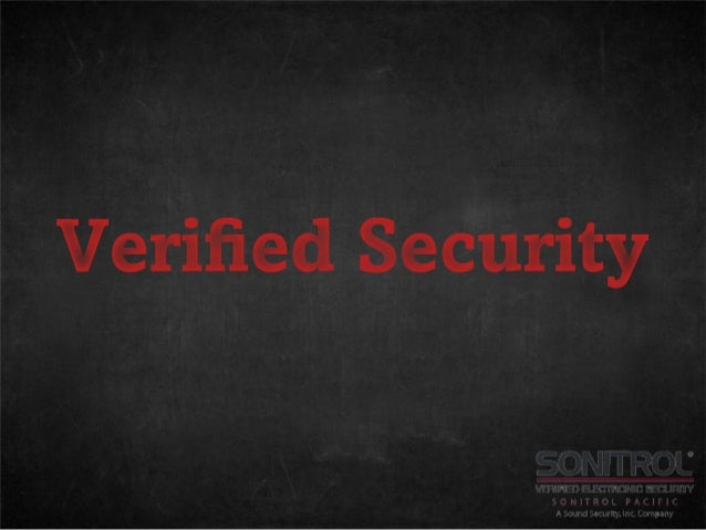 Verified security. It's worth it.