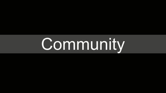 Communities around stores