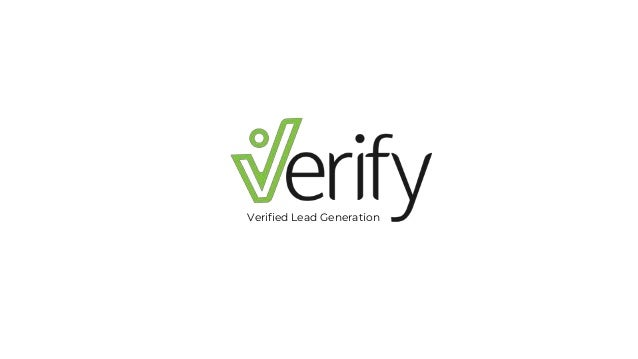 Verified Lead Generation