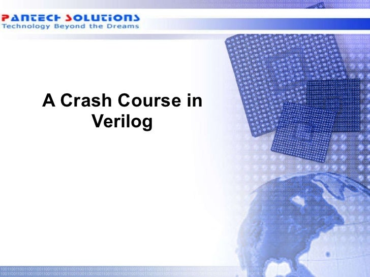 A Crash Course in Verilog