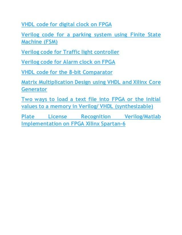 Hdl code for fsm dating 8