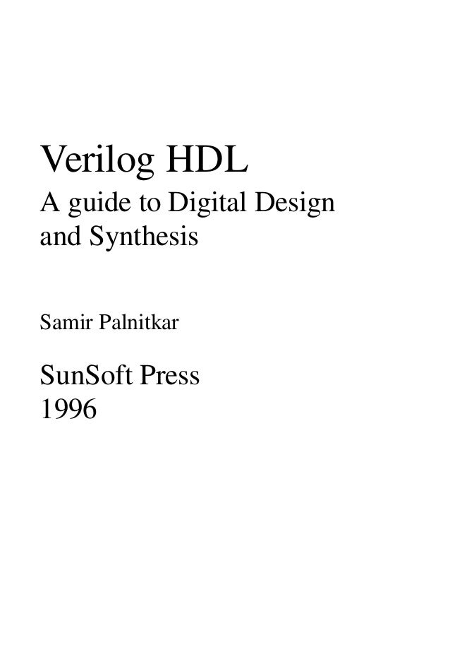 verilog a guide to digital An ams model of an analog-to-digital converter,  digital: verilog d-type flip  flop te verilog language  mixed-signal methodology guide output, while the.
