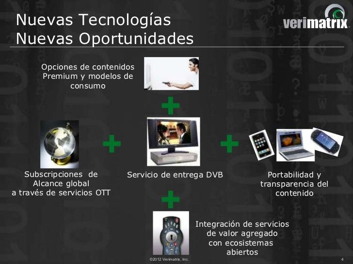 Nuevas TecnologíasNuevas Oportunidades       Opciones de contenidos       Premium y modelos de             consumo    Subs...