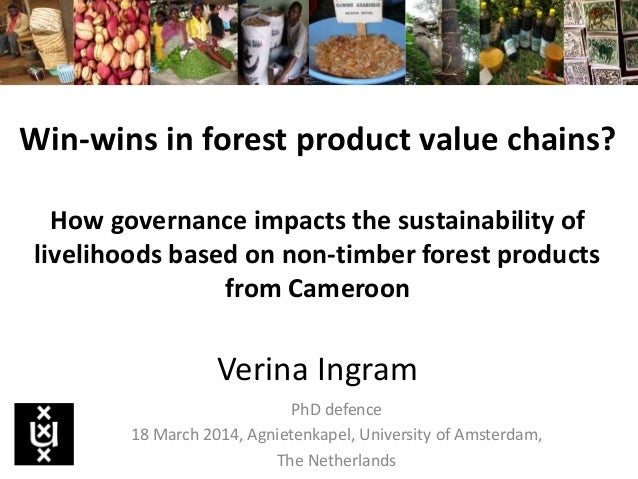 Win-wins in forest product value chains? How governance