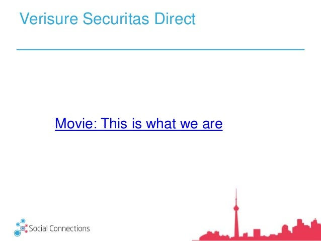 Verisure Securitas Direct: On our fourth year in the Cloud! What has it been like so far? Slide 3