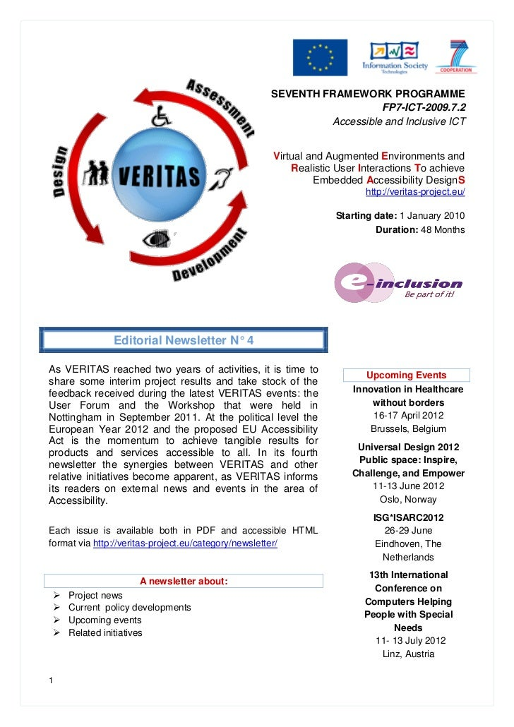SEVENTH FRAMEWORK PROGRAMME                                                                  FP7-ICT-2009.7.2             ...