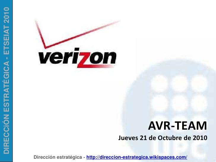 AVR-TEAM<br />Jueves 21 de Octubre de 2010<br />