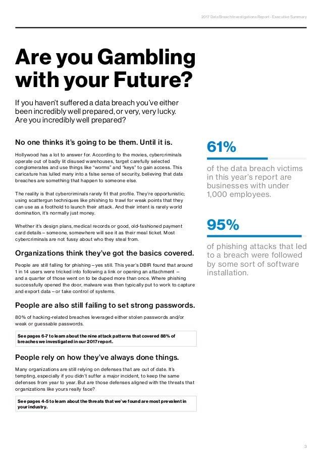 N4B SRL & SOLARWINDS MSP - Verizon 2017 Data Breach