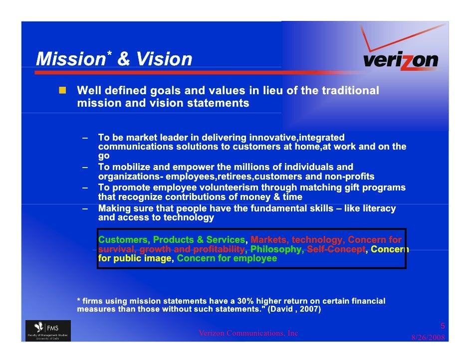 Verizon - A Case Study