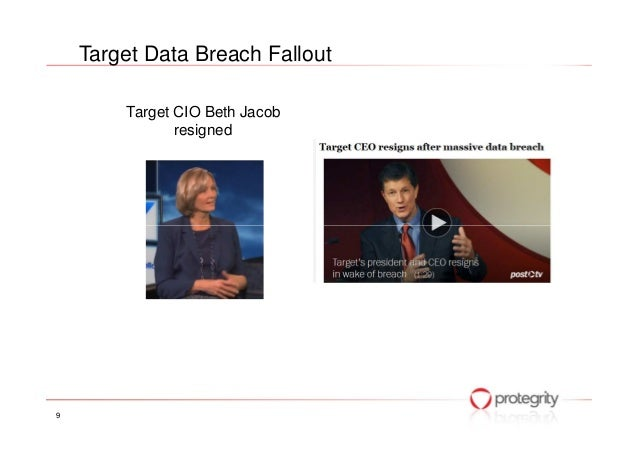the massive data breach at target Target corp's chief information officer beth jacob is resigning, effective immediately, in the wake of the massive data breach during the holiday 2013.
