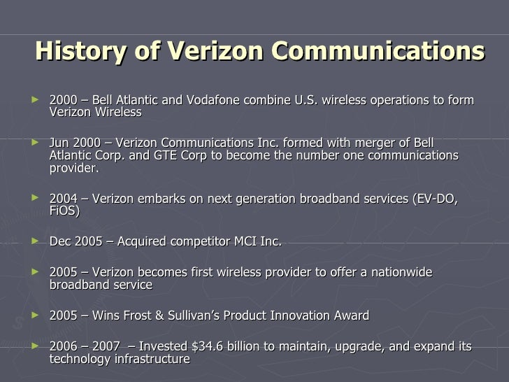 Verizon Communications Inc.: Capital Structure Choices Essay