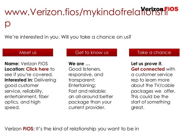 Verizon FiOS Integrated Marketing Campaign Proposal