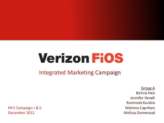 Integrated Marketing Campaign                                                           Group A                           ...