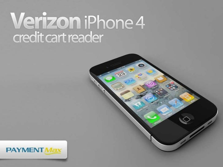 credit card reader for iphone verizon iphone 4 credit card reader 3543