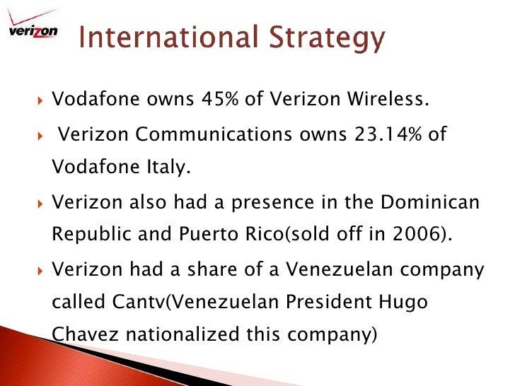 Verizon wireless marketing plan