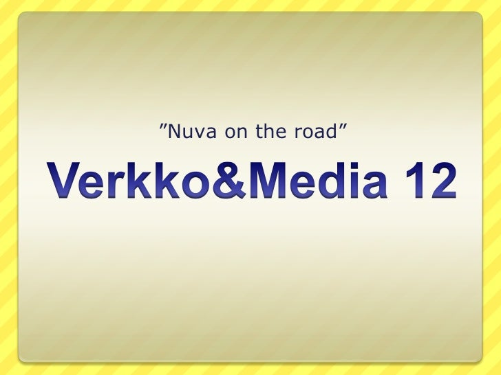 """Nuva on the road"""