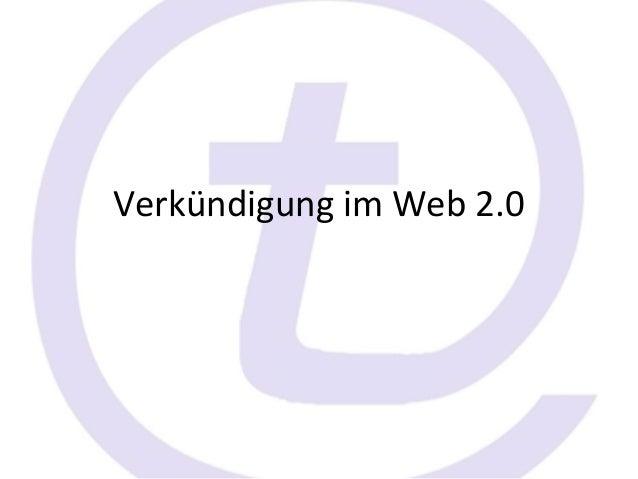 Verkündigung im Web 2.0
