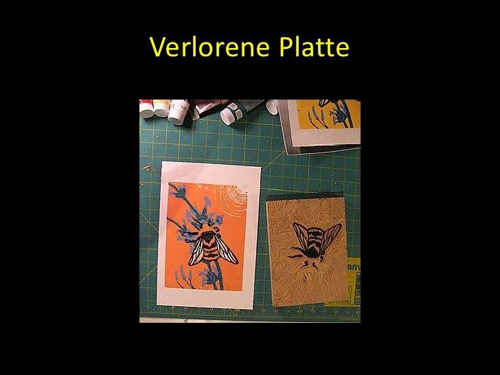Verlorene Platte<br />