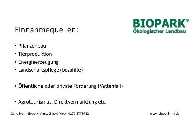 Vermarktung oekologisch erzeugter Produkte Slide 3
