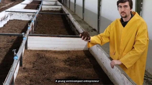 A young vermicompost entrepreneur