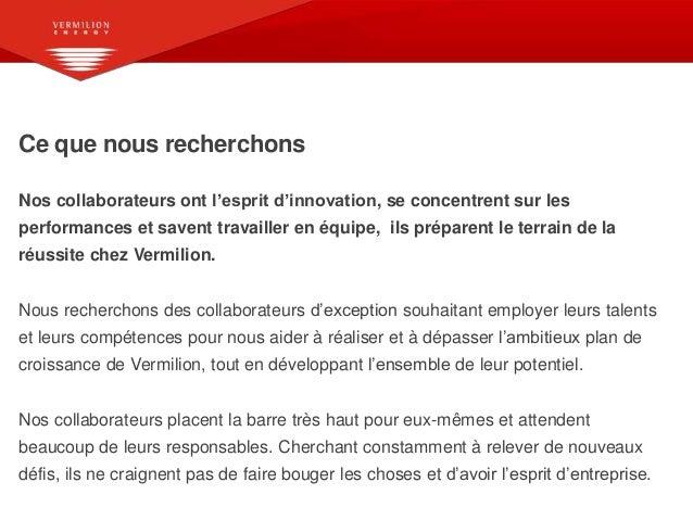Vermillion Energy France – Une entreprise où il fait bon travailler Slide 2