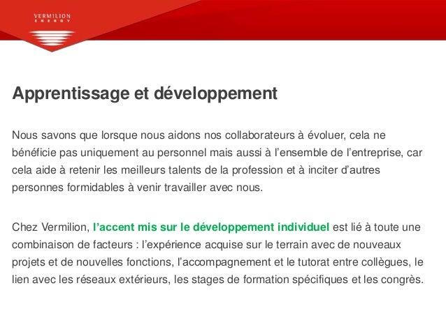 Vermillion Energy France – Une entreprise où il fait bon travailler Slide 3