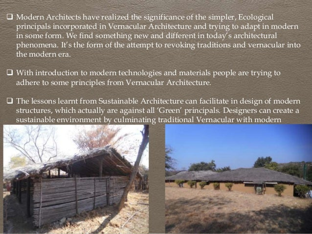 Vernacular Arch And Its Adaptation In Modern Construction